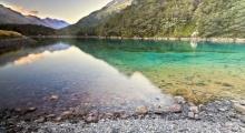 Blue Nelson Lake ทะเลสาบที่ใสที่สุดในโลก มองทะลุถึงพื้นได้ถึง 80 เมตร