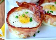 มาพบกับ 'คัพไข่ชีสห่อเบคอน' เมนูอาหารเช้าสุดพิเศษแบบง่ายๆ ที่คุณต้องลอง