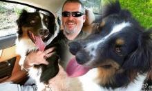"""แปลกสุด!! หมาต้อนแกะในอเมริกาเกิดมาก็มี """"จมูกสองอัน"""""""