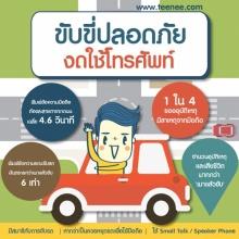 ขับขี่ปลอดภัยงดใช้โทรศัพท์