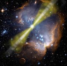 ปรากฏการณ์ดาราศาสตร์อาจเผยให้เห็นร่องรอยของ ควอนตัมโฟม