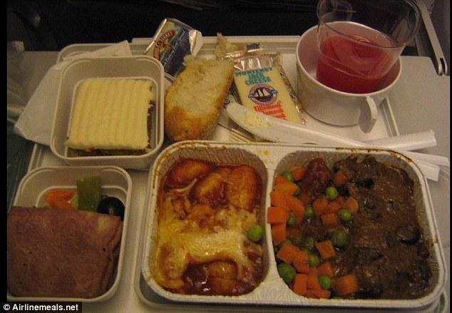 รสชาติอาหารที่จืดชืดของสายการบิน Alitalia