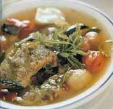 ต้มโคล้ง ปลาสลิดใบมะขามอ่อน
