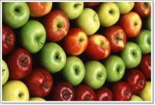 แอ๊ปเปิ้ลหลากสีต้านโรค