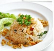 ข้าวผัดปลาสลิด