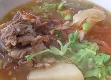 ซุปหางวัว(แบบอิสลาม)