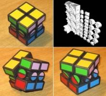 ตะลึง!!! ปริศนา รูบิค เพิ่มกลไก 2x2x2