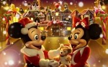 วอลเปเปอร์ Hong Kong Disneyland Christmas Fantasy