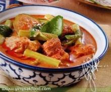 แกงเทโพผักบุ้งทูน่า