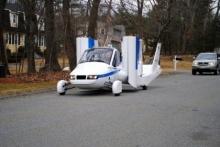 รถบินได้ที่งานแสดงรถยนต์ในนิวยอร์ค