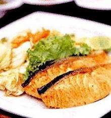 สเต๊กปลาแซลมอน