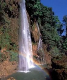 มหัศจรรย์รุ้งกินน้ำ ที่น้ำตกทีลอซู