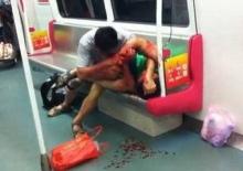 ศึกนองเลือดชิงที่นั่งรถไฟใต้ดิน