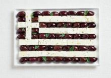 ออสเตรเลียทำเก๋ ประดิษฐ์ธงชาติจากอาหาร