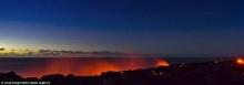 ชมภาพสุดระทึก-เสี่ยงตายลาวา รัฐฮาวายไหลทะลักจากภูเขาไฟ