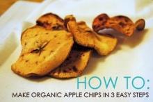 Apple Chips ของว่างง่ายๆ ได้ประโยชน์