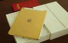 iPad Air 2 เคลือบทองคำแท้ 24 กะรัต !!!