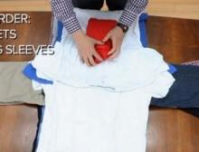 สุดยอด!! วิธีการ พับผ้า แบบ เทพๆ ช่วยประหยัดพื้นที่กระเป๋า!