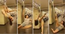 เจอแล้วสาวเต้นโพลแดนซ์ในรถไฟฟ้า  วุ้นเส้น เคยแข่งTG 1
