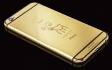 มั่งมีศรีสุขรับตรุษจีนด้วย iPhone 6 ทองคำแท้ลายแพะสุดหรูหรา