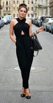 แฟชั่นชุดดำทรงเสน่ห์ เท่ห์ เก๋ สวยอีกต่างหาก!!