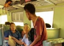 เมื่อทำไอโฟน 6 ตกบนรถไฟ แต่กลับมีคนหน้าตาน่ากลัว มาทำแบบนี้ ทำให้คิดอะไรได้มากมาย