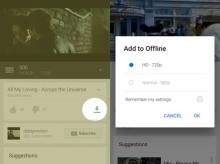 รู้ยัง แอป YouTube อนุญาตให้โหลดคลิปเพลงมาฟังแบบ offline ได้แล้วนะ