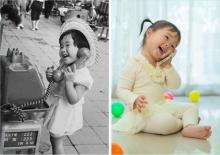 10 ภาพอดีตถึงปัจจุบัน ที่จะบอกคุณว่า เด็กไม่ได้เปลี่ยนไปเลย