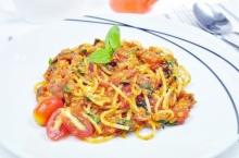สปาเก็ตตี้ซอสเนื้อ Spaghetti Bolognase Sauce