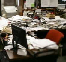 เชื่อหรือไม่ มนุษย์โต๊ะรก คือพวกมีประสิทธิภาพการทำงานสูง??