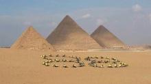 ประมวลภาพกิจกรรม ปั่นเพื่อพ่อ ส่งตรงจาก มหาปีรามิดกีซา ประเทศอียิปต์