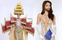 เด็ดอ่ะ!!ชุดประจำชาติพม่า-ออสเตรีย ประชันใน Miss Universe