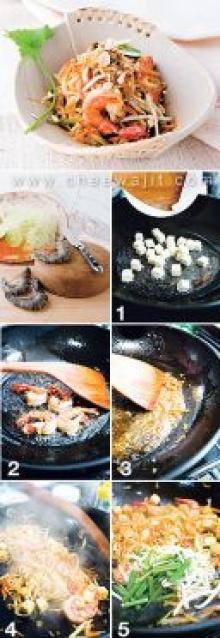 ผัดไทยมะละกอ