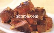สเต็กเนื้อสไตล์เทปันยากิน