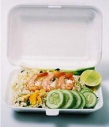 เตือนอาหารกล่องโฟม ´เสี่ยงมะเร็ง´
