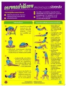 การออกกำลังกายเพื่อป้องกันอาการปวดหลัง