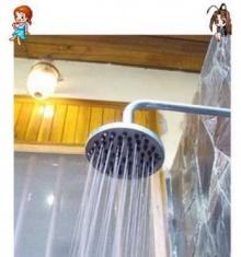 เคล็ดลับน่ารู้ วิธีทำความสะอาดคราบตะกอนที่ติดฝักบัวอาบน้ำ