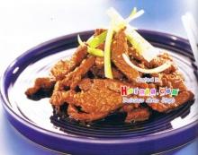 เนื้อวัวผัด (Bokkum)
