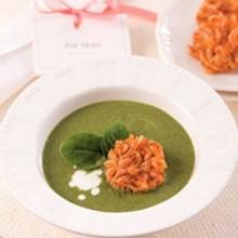 ซุปผักสีเขียวเพื่อสุขภาพ