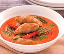 แกงคั่วมะระขี้นกไส้ปลากราย