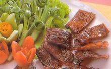 หมู - เนื้อแช่น้ำปลา