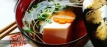 ซุปเต้าหู้และกุ้ง (ซูมาชิวัน)