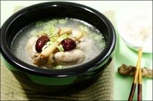 ไก่ตุ๋นโสม เกาหลี