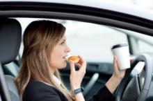 กินอาหารในรถ..เพาะเชื้อโรคร้าย