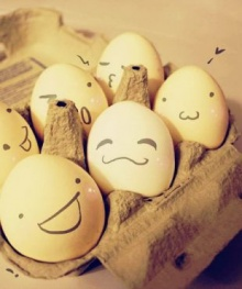 แบบทดสอบความคาดหวังต่อคนรักโดยการเลือกไข่
