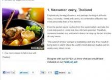 ตะลึง!! มัสมั่น ไทยผงาด1 ใน 50อร่อยที่สุดในโลก
