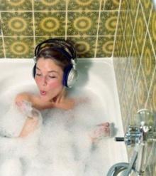 วิธีการอาบน้ำลดต้นขา หน้าท้อง
