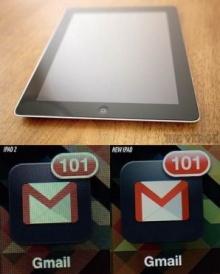 ท้าพิสูจน์จอ new iPad เผยต้นทุนแพงขึ้น