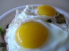 เกร็ดความรู้  วิธีทอดไข่ดาวให้ดูฟองใหญ่