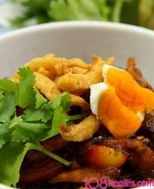 น้ำพริกเผากากหมูไข่เค็ม